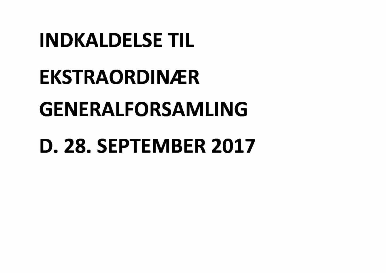 Ekstraordinær Generalforsamling d. 28. september – HAVEFORENINGEN BAKKEVANG